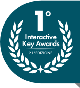 1° Posto - 21° Interactive Key Awards